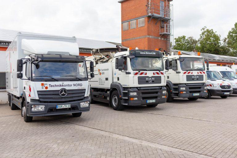 Fahrzeuge für Kanalreinigung und Kanalinspektion